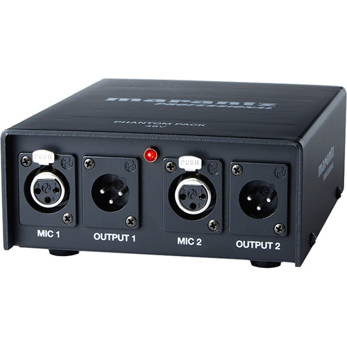 Marantz Professional 2-Channel Phantom Power Supply (48V)