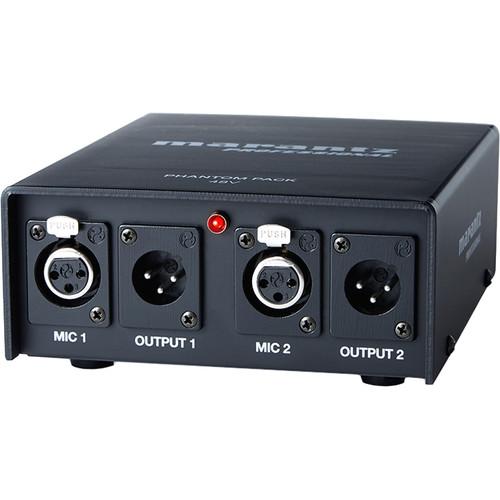 Marantz Professional Phantom Pack 2-Channel 48V Phantom Power Supply