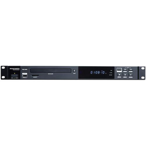 Marantz Professional PMD-500D Media Player for DVD Disc, SD/SDHC, & USB