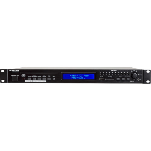 Marantz Professional PMD-526C CD/Media/Bluetooth Player with RS-232c Control