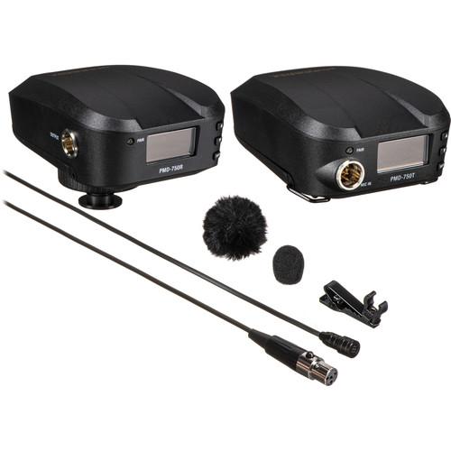 Marantz Professional PMD-750 Camera-Mount Digital Wireless System with Omnidirectional Lavalier Mic