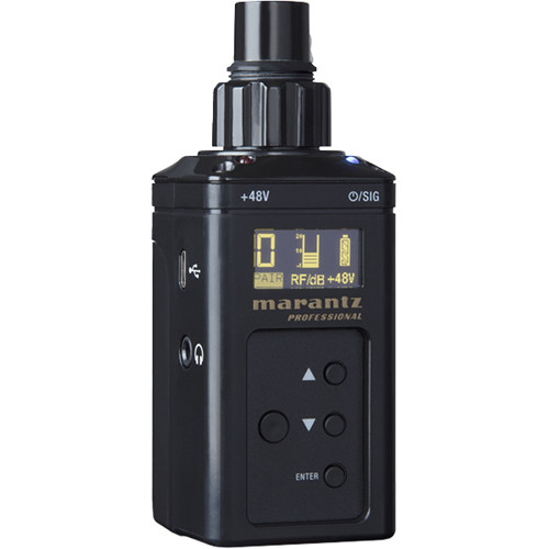 Marantz Professional PMD-750TA Digital Wireless Plug-On Transmitter (2.4 GHz)