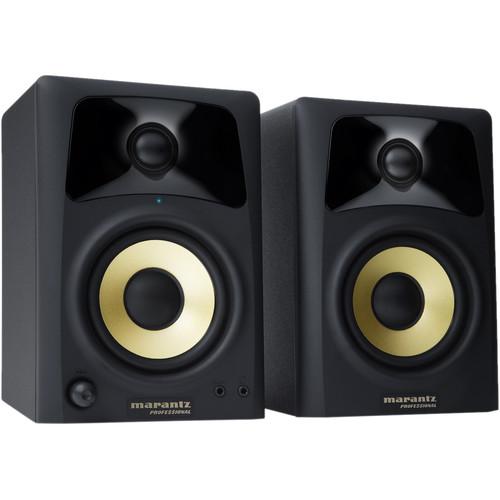 "Marantz Professional Studio Scope 4 - 4"" Active 2-Way Speakers (Pair)"