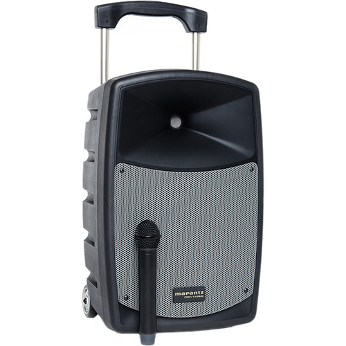 Marantz Professional Voice Rover Battery-Powered Portable PA System with Bluetooth and Wireless Mic
