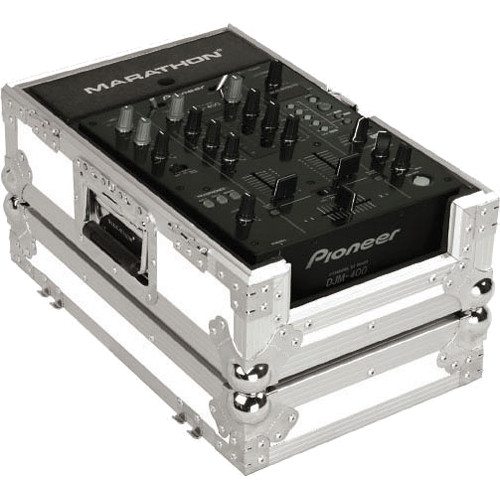"Marathon White Series Flight Road Case for 10"" Mixer"