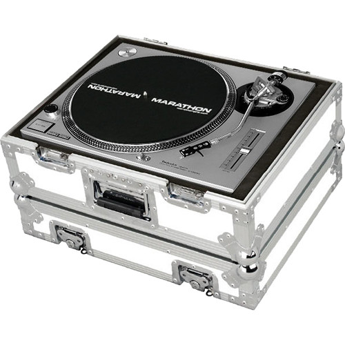 Marathon MA-1200WH WHITE Series Deluxe Turntable Case