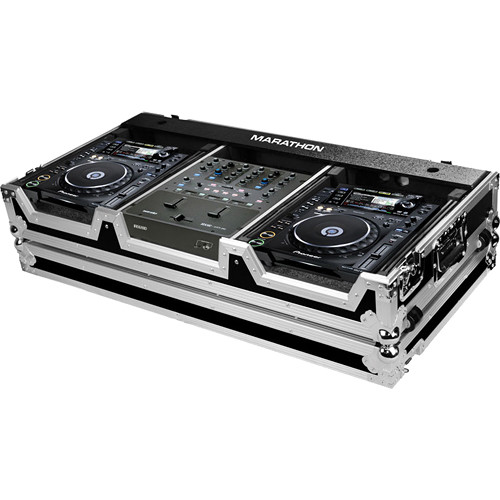 Marathon MA-CDJ2KRN61W Case for 2 Large Format Players and Rane 61 Serato Mixer