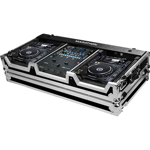 Marathon MA-CDJ2KRN62W Case for 2 Large Format Players and Rane 62 Serato Mixer