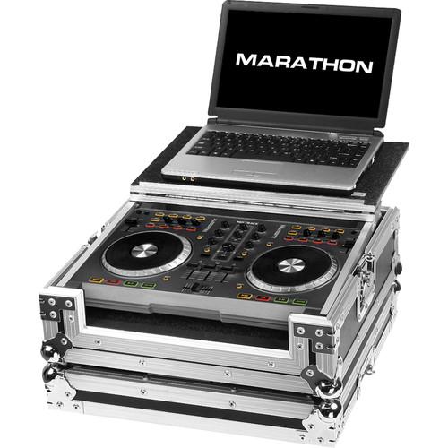 Marathon Flight Road Case for Mixtrack Pro II DJ Controller with Laptop Shelf