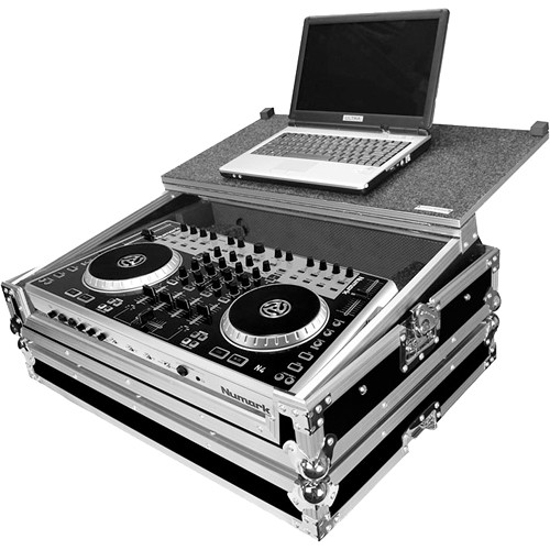 Marathon MA-N4 Case for Numark N4 Serato and Virtual DJ Controller (with Laptop Shelf)