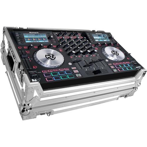 Marathon White Series Flight Case for Numark NV Serato DJ Controller (White / Silver)