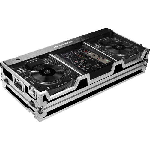 """Marathon Case for 2 Large Format CD Players and 10"""" Mixer"""