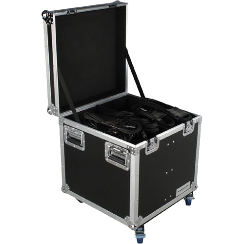 "Marathon MA-TUT222222W Tour Ready Utility Trunk Case with Casters (22 x 22 x 22"")"