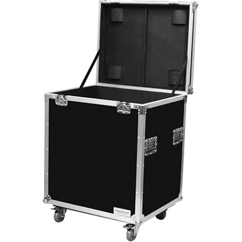 "Marathon MA-TUT291613W Tour Ready Utility Trunk Case with Casters (29 x 16 x 13"")"