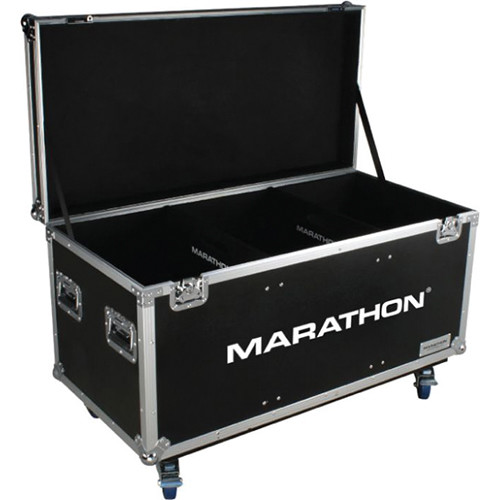 "Marathon MA-TUT603724W Tour Ready Utility Trunk Case with Casters (61.25 x 31 x 22.75"")"