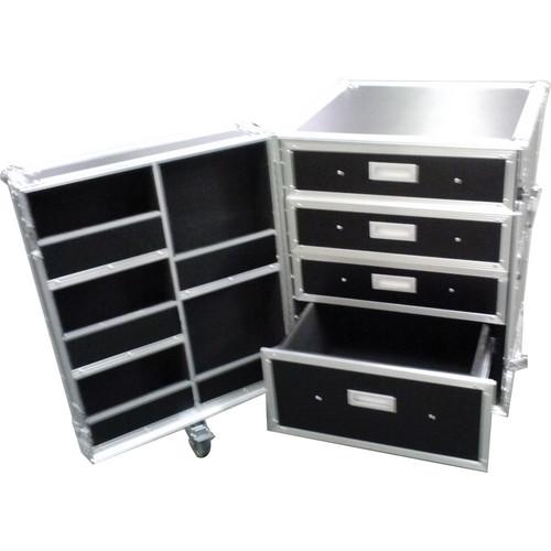 Marathon Professional Flight Road Case MA-WORKBOX1000 with Drawers & Wheels