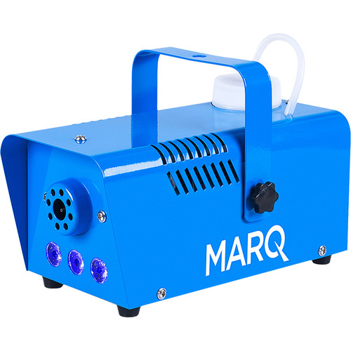 MARQ Fog 400 LED - Quick-Ready Water-Based Fog Machine (Blue)
