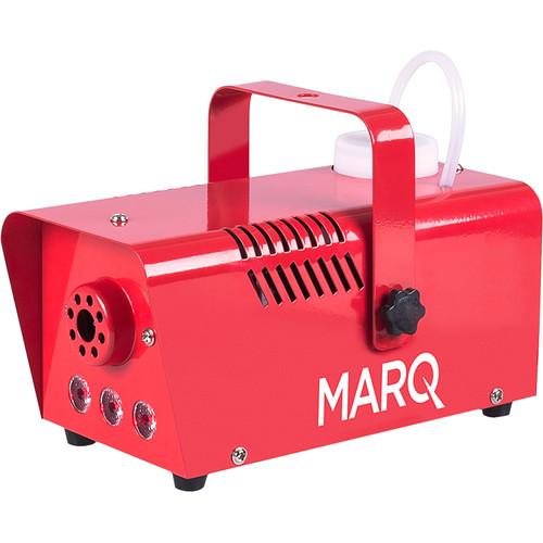 Marq Fog 400 LED - Quick-Ready Water-Based Fog Machine (Red)