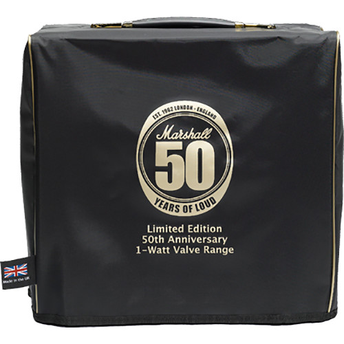 Marshall Amplification COVR-00112 50th Anniversary 1W Combo Dust Cover