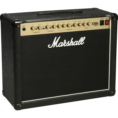 Marshall Amplification DSL40C 2-Channel Valve Combo Amplifier (40W)