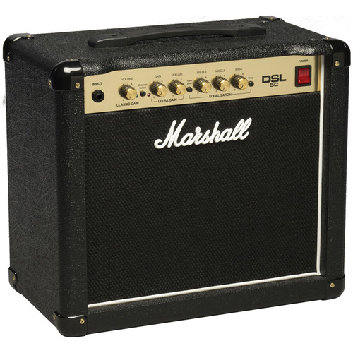 Marshall Amplification DSL5C 2-Channel Valve Combo Amplifier (5W)