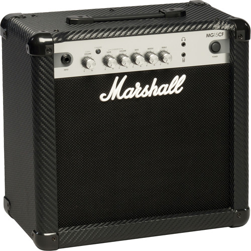 Marshall Amplification MG15CF 2-Channel Solid-State Combo Amplifier (15W)