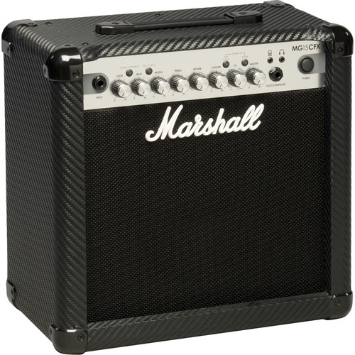 Marshall Amplification MG15CFX 4-Channel Solid-State Combo Amplifier with Presets and FX (15W)