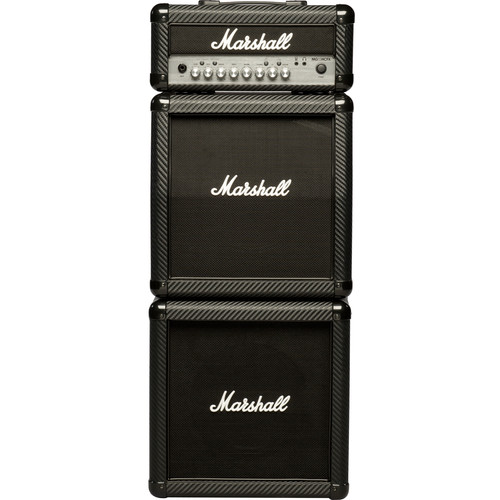 Marshall Amplification MG15CFXMS 4-Channel Solid-State Mini-Stack Amplifier with Presets and FX (15W)