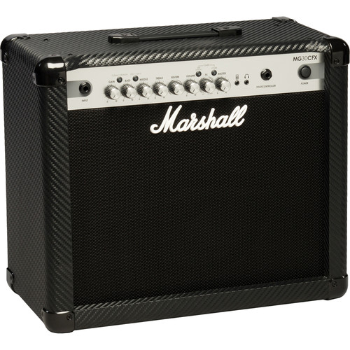 Marshall Amplification MG30CFX 4-Channel Solid-State Combo Amplifier with Presets and FX (30W)