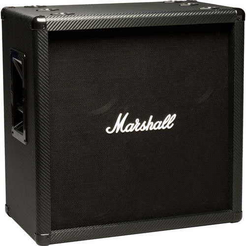 "Marshall Amplification MG412BCF MG Carbon Series 4x12"" Straight Speaker Cabinet"