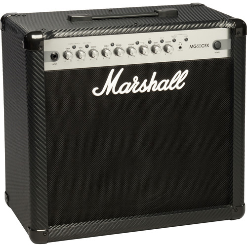 Marshall Amplification MG50CFX 4-Channel Solid-State Combo Amplifier with Presets and FX (50W)