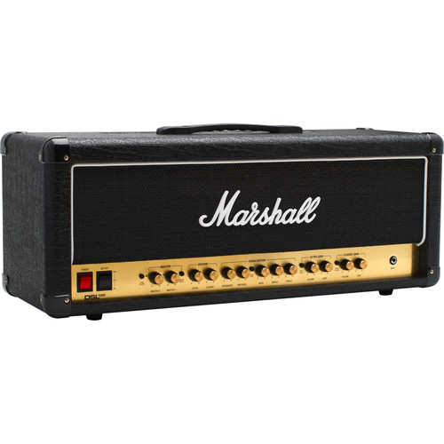 Marshall Amplification DSL100HR - 2-Channel Valve Amplifier Head with Variable Output (100W)