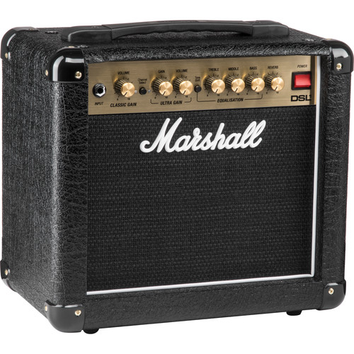 Marshall Amplification DSL1CR 1W 2-Channel Valve Combo Amplifier with Reverb