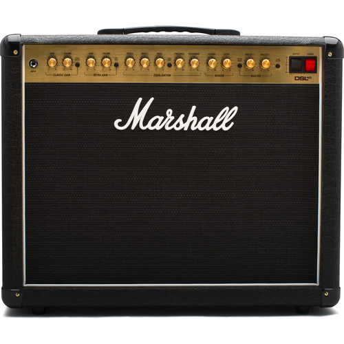 Marshall Amplification DSL40CR 2-Channel Valve Combo Amplifier with Variable Output (40W)
