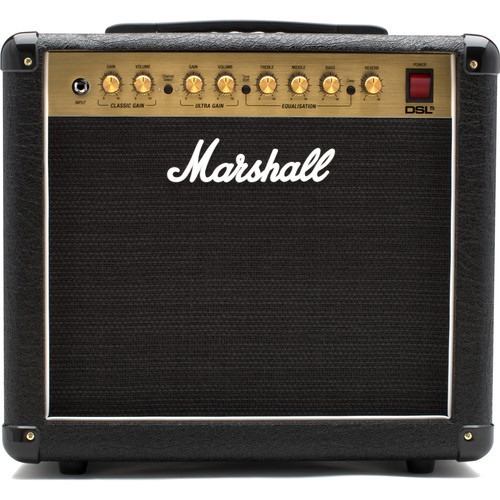 Marshall Amplification DSL5CR 5W 2-Channel Valve Combo Amplifier with Reverb
