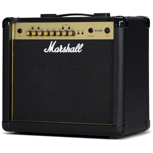 Marshall Amplification - MG30GFX 4-Channel Solid-State Combo Amplifier with Presets and FX (30W)