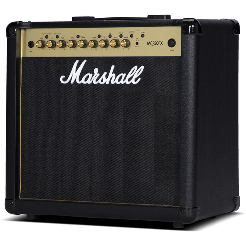 Marshall Amplification MG50GFX 4-Channel Solid-State Combo Amplifier with Presets and FX (50W)