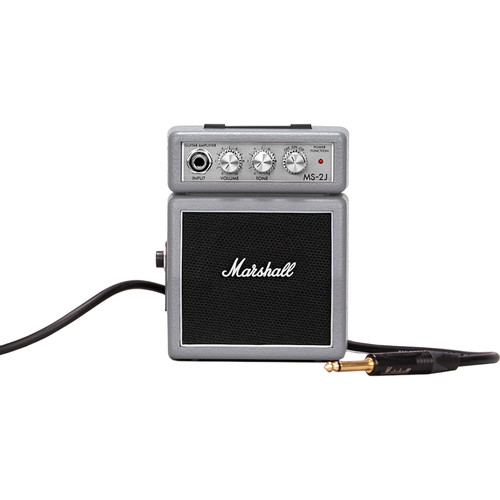 Marshall Amplification MS-2J-U Micro Amp - Mini Practice Amp (Limited Edition Silver)