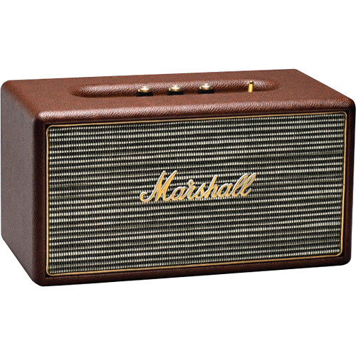Marshall Audio Stanmore Bluetooth Speaker System with Optical Connectivity (Brown)