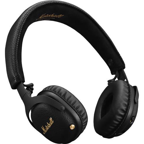 Marshall Mid A.N.C. Active Noise-Canceling On-Ear Wireless Headphones (Black)