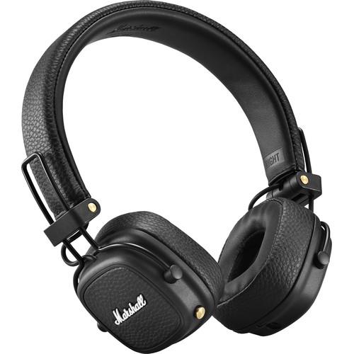 Marshall Major III Wireless On-Ear Headphones (Black)