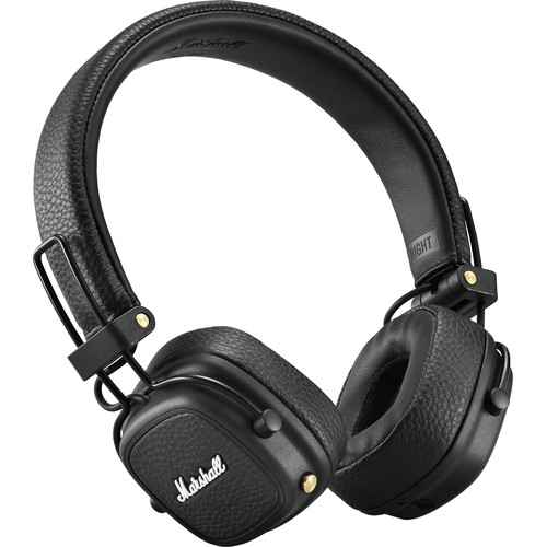 Marshall Audio Major III Wireless On-Ear Headphones (Black)