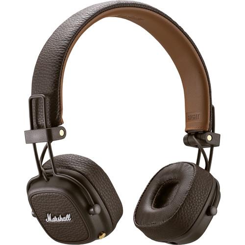Marshall Audio Major III Wireless On-Ear Headphones (Brown)