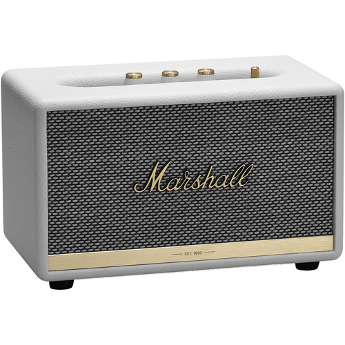 Marshall Audio Acton II Bluetooth Speaker System (White)
