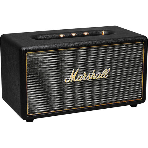 Marshall Audio Stanmore Bluetooth Speaker System with Optical Connectivity (Black)