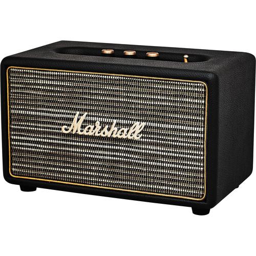 Marshall Audio Acton Bluetooth Speaker (Black)