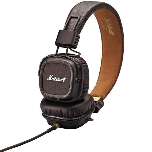 Marshall Audio Major II Headphones (Brown)