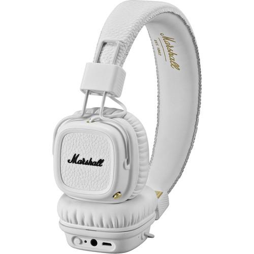 Marshall Audio Major II Bluetooth Headphones (White)