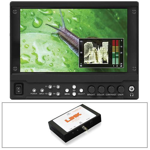 "Marshall Electronics V-LCD70MD-O 7"" Monitor Kit with Dual SDI Output and HDMI to SDI Converter"