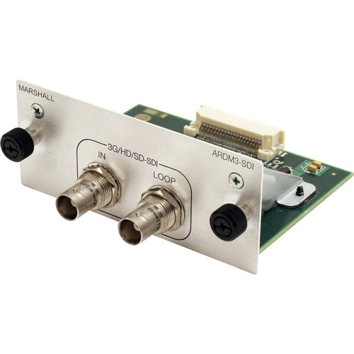 Marshall Electronics 3G/HD/SD-SDI Input/Loop-Through Output Module for AR-DM32-B Monitor